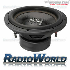 "Ground ZERO radioattivi gzrw 15D2 15"" SUB SUBWOOFER BASS CAR AUDIO 1600 W 2Ohm D"