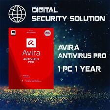 Avira Antivirus Pro 2020 | 1 DEVICE | 1 YEAR LICENSE Multi Language