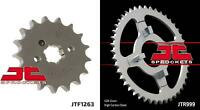 Front & Rear Sprocket Kit for HONDA CT110 Trail 110-USA 80 JT Sprockets