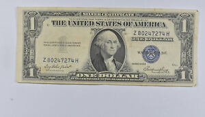 Crisp - 1935-E United States Dollar Currency $1 Silver Certificate *335