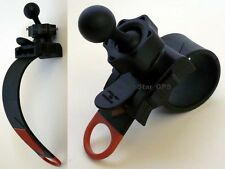 MOTORCYCLE/BIKE HANDLEBAR MOUNT FOR ALL GARMIN NUVI DEZL NUVICAM DASH CAM 10 20