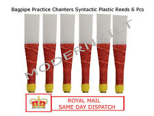 New top quality Bagpipe Syntactic Plastic Reeds Practice Chanter  6 Pcs