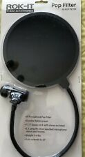 """Rok-It 6"""" One-Layer Microphone Pop Filter (New)"""