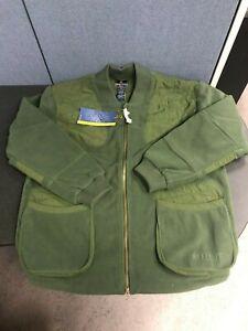 New Beretta Fleece Green Jacket Size XL
