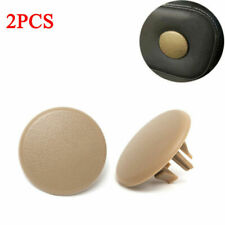 2x Armrest Rear Seat Cover Cap For 2007-2018 Chevy Tahoe Yukon Cadillac Beige