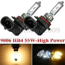 2x 12V 55W 9006 HB4 4300K Halogen Headlight Xenon HID Yellow Light Lamp Fog Bulb