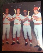 Big Red Machine Cincinnati Reds #2 8x10 photo Bench Rose Perez Morgan 75 WS