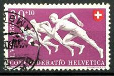 SWITZERLAND - SVIZZERA - 1950 - Pro Patria. Sport diversi - 30 + 10 c., Corsa
