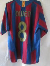Barcelona Owen 8 2005-2006 Home Football Shirt Tamaño Mediano / 34107