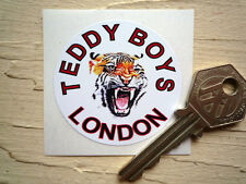 Teddy Boys Londres pegatinas Clásica Motocicleta Rockeros