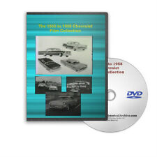 1955 to 1958 Chevrolet Sales Training Films Turboglide Engine Teardown DVD C201