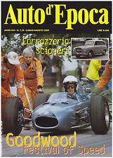 AUTO D'EPOCA 7-8/1999 CARROZZERIA SCIONERI – FIAT 1200 GRAN LUCE VIOTTI