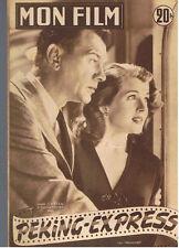 FRENCH MOVIE MAGAZINE 1953 JOSEPH COTTEN CORINNE CALVET BARBARA BATES