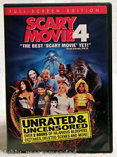 Scary Movie 4 (DVD, 2006, Unrated & Unsensored, Full Frame)