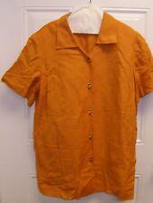 Maggie London Orange 2 Piece Pant Suit Woman's Size 16