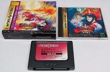 Samurai Shodown 4 Amakusa s Revenge Spirits IV Box Set 1 MEG RAM Sega Saturn JPN