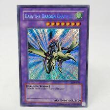 Yugioh Gaia The Dragon Champion LOB-125 PACK FRESH CARD