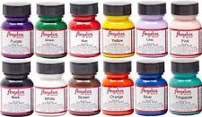 Angelus Acryl Leder Farbe Starter Paket - Mehrfarbig, 30ml jeweils