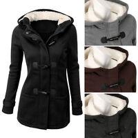 Women Hooded Long Parka Warm Coat Plus Jacket Outwear Trench Winter Overcoat