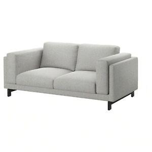 ' New Original IKEA cover set for Nockeby 2-seat sofa in Tallmyra White/Black