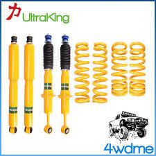 "Toyota Prado 120 Series HD Front & Rear Shocks + KING Coil Springs 2"" Lift Kit"
