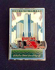 Rare 1990 Valvoline DETROIT GRAND PRIX IX Indy CART Collectible Lapel | Cap Pin