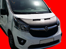 Opel Vauxhall Vivaro since 2014 CUSTOM CAR HOOD BRA FRONT MASK