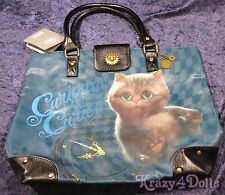 Disney Alice Through The Looking Glass Cheshire Cat Tote Bag/Pocketbook w/tags!