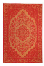 Tapis orange rectangulaires turcs pour la maison