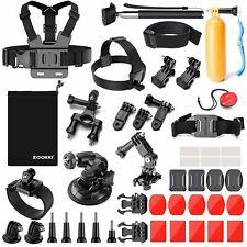 Zookki 39-in-1kit d'accessoires pour GoPro Hero 543+ 321Noir Argent,