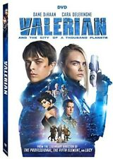 Valerian And The City Of A Thousand Planets [New DVD] 2 Pack, Ac-3/Dolby Digit