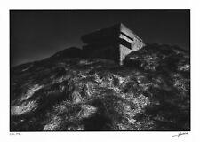 """Photographie """"Forteresses du Dérisoire"""" J.C. GAUTRAND blockhaus Nacqueville 1974"""