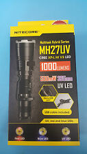 Nitecore MH27UV CREE XP-L HI V3 LED 500mW 365nm Ultraviolet LED Flashlight