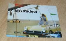 1974 MG Midget Car Sales Brochures
