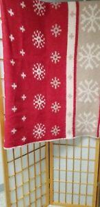 Mohair Wool Blanket Throw Multi Color