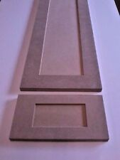 Custom cut to size New MDF Shaker Pannel cabinet door and drawer front REFACING