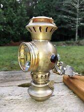 Antique 1896 Bicycle Lantern Union Lamp Co. Williams Globe Chicago Vapor Lamp