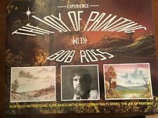BOB ROSS Special Book Titled EXPERIENCE THE JOY OF PAINTING, FAB PAINTINGS