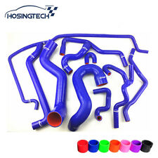 HOSINGTECH-for SAAB 9-5 2.0T 2002-2007 blue10pcs turbo silicone coolant hose