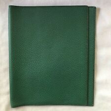 Very Cool HERMES Green Togo calfskin MM notebook cover