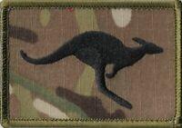 Army Australian JTF633 Kangaroo Deployment Patch on Multicam