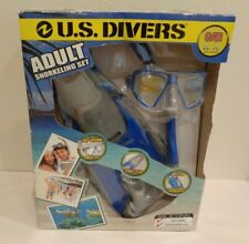 New listing US Divers New SNORKELING SET Blue Size Small to Medium