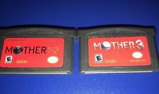 Mother 1+2 & Mother 3 - English GBA Game Boy 1 2 3 Earthbound Zero brand new
