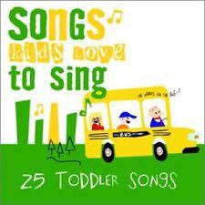 Songs Kids Love To Sing - Toddler Songs [New CD]