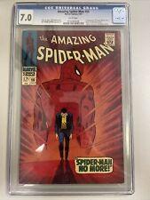 Amazing Spider-Man 50 CGC 7.0 1st Kingpin Wilson Fisk