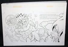 Spider-Man: Caught in the Web pgs.16&17 vs Scorpion & Hobgoblin by Steven Butler Comic Art