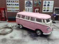 NEW KINSMART 1962 VW VOLKSWAGEN CLASSICAL BUS LOOSE 1:64 SCALE W/ KEY CHAIN