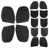 1 Pair Rubber Half Soles Taps Heel Pads Anti Slip DIY Shoes Repair Accessories