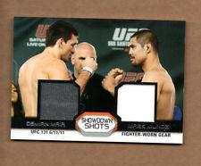 2011 Topps UFC Moment of Truth Showdown Shots Dual Relics Demian Maia Mark Munoz