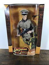 """Indiana Jones German Officer Doll Hasbro Last Crusade 12"""" Nib"""